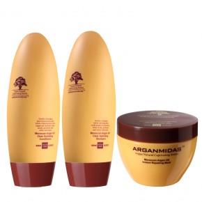 Rinkinys: Arganmidas Moroccan Argan Oil Clear Hydrating trio
