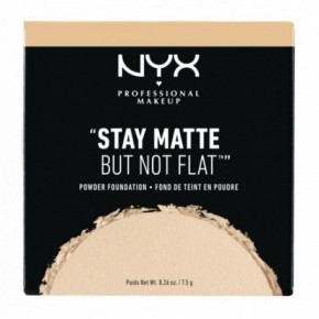NYX Professional Makeup Stay Matte But Not Flat Powder Foundation Puuder-jumestuskreem 7.5g