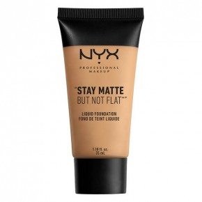 NYX Professional Makeup Stay Matte But Not Flat Liquid Foundation Vedel jumestuskreem 35ml