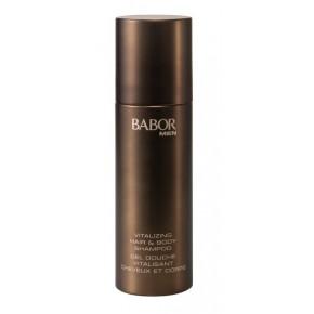 Babor Men Vitalizing Hair & Body Shampoo Meestele mõeldud ergutav šampoon kehale ja juustele 200ml